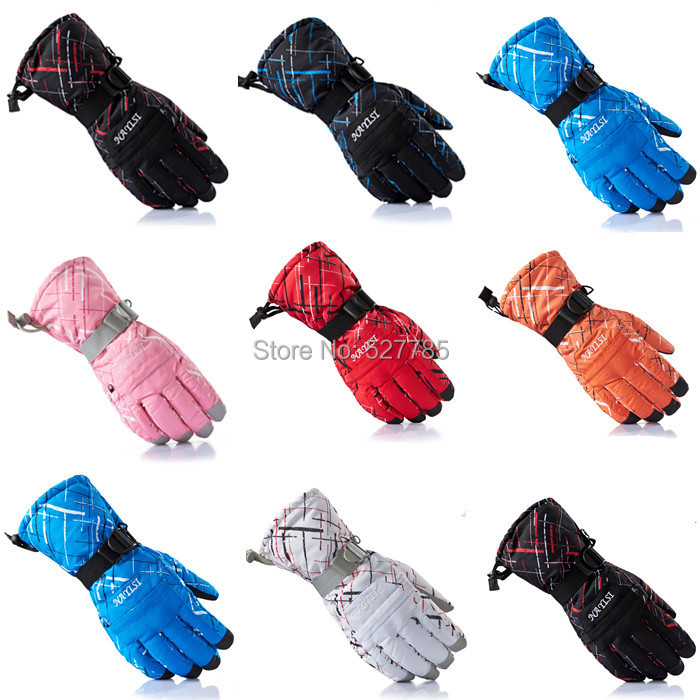 Winter Outdoor Sports Men Women Windproof waterproof -30 Warm Cycling Bicycle Ski Snow Snowmobile Motorcycle snowboard Gloves(China (Mainland))