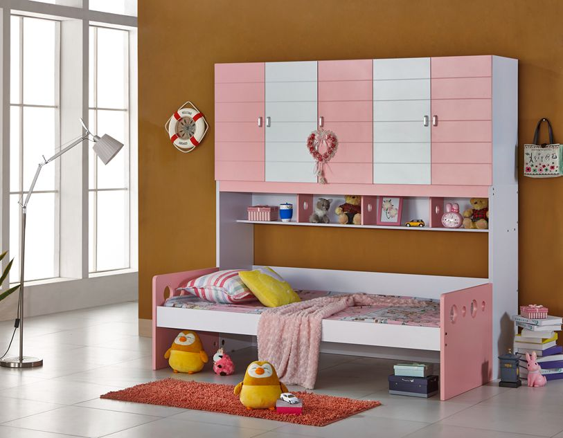 Bed linen closet paragraph teenagers HA03 bed children's furniture in combination with storage beds Specials(China (Mainland))