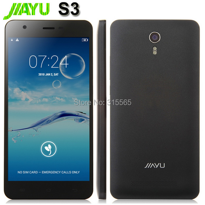 """JIAYU S3 smartphone MTK6752 Qcta core 5,5""""Gorilla Android 4.4 WCDMA 4G LTE Tempered Glass film GIFT Installled google play store(China (Mainland))"""