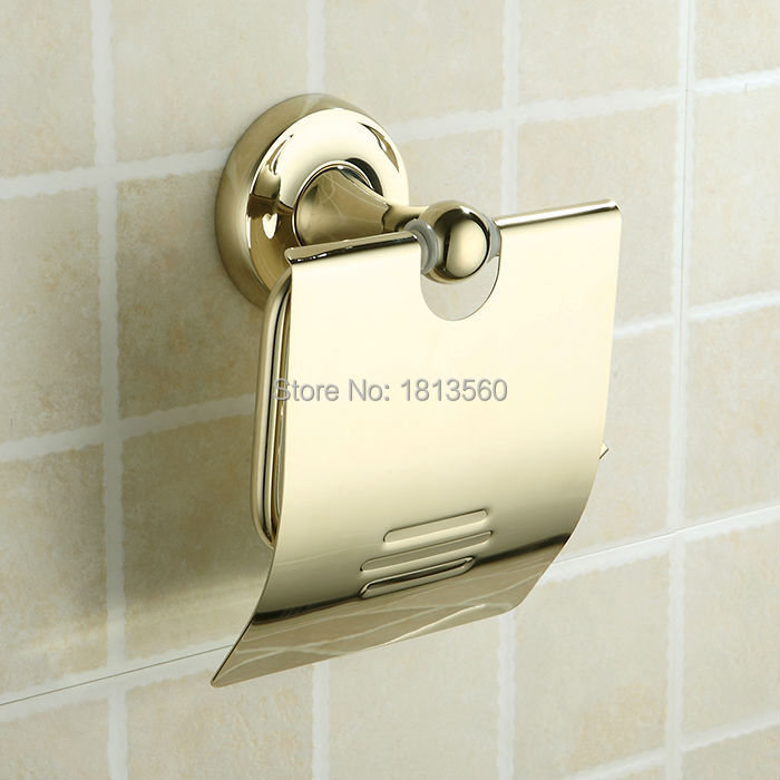 Continental Toilet Paper Holder Golden Toilet Roll Holder