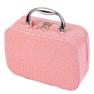 New 2015 Women Cosmetic Bag Small Cute Stone Pattern Cosmetic Case Makeup Organizer Bags Ladies Make up Bag for Girls pc029<br><br>Aliexpress