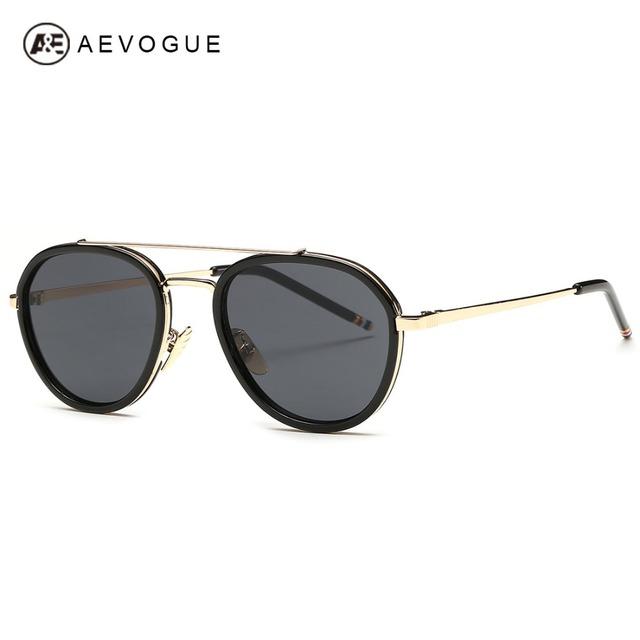 Aevogue женские солнцезащитные очки металлический каркас лето стиль люксовый бренд дизайн старинные солнечные очки óculos De Sol UV400 AE0318