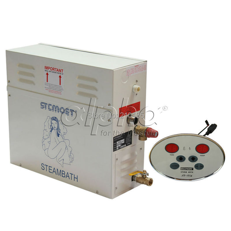 Free shipping 8KW220-240V 50HZ automatic drain residential/commercial  Best effective-cost steam generator 2 years guanratee<br><br>Aliexpress