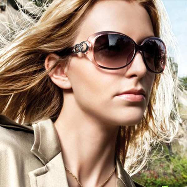 2015 New Vintage Fashionable Women Polarized Sunglasses Gradient lens glasses oculos de sol feminino women brand designer(China (Mainland))