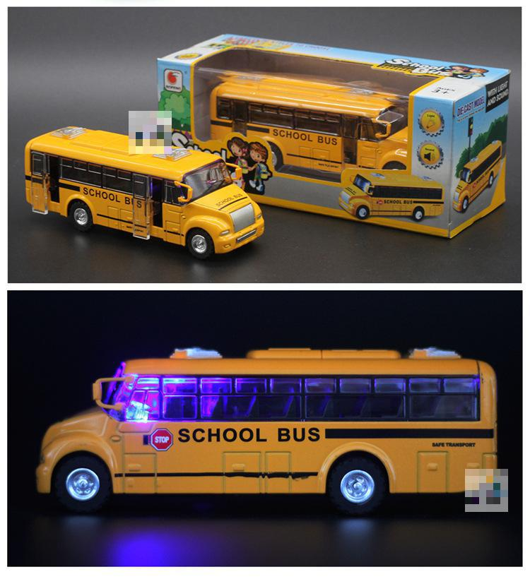New Arrival School Bus 1:32 Diecast Cars Metal Model Car Dinky Toys For Children Brinquedos Alloy Bus Toy Kids Toys(China (Mainland))