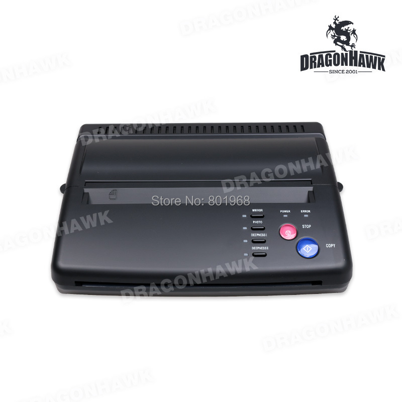 Tattoo Stencil Maker Transfer Machine Thermal Copier Printer With Gift 20 Pieces Tattoo Transfer Papers(China (Mainland))