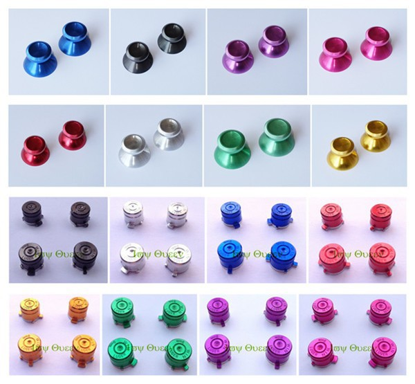 for ps4 controller thumbstick and metal buttons