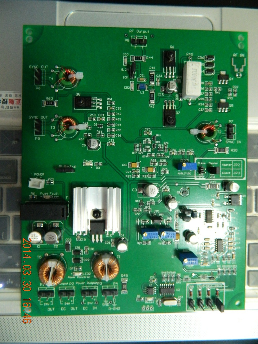 8.2mhz RF PCB boards 3800 RX+TX for eas antenna or eas system(China (Mainland))