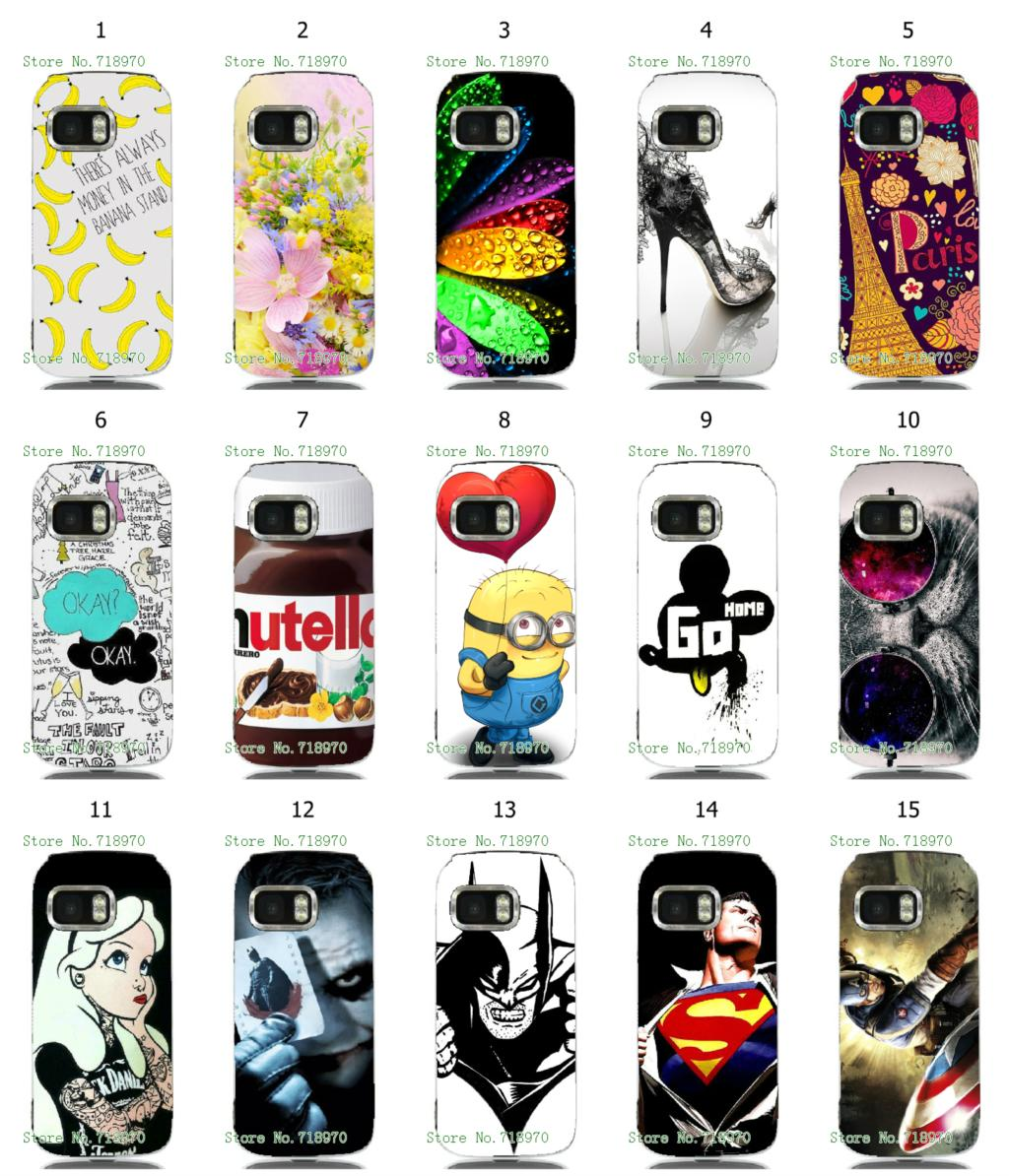batman Captain America hybrid retail 15designs new arrival white hard mobile phone bags & cases for NOKIA 5800 free shipping(China (Mainland))