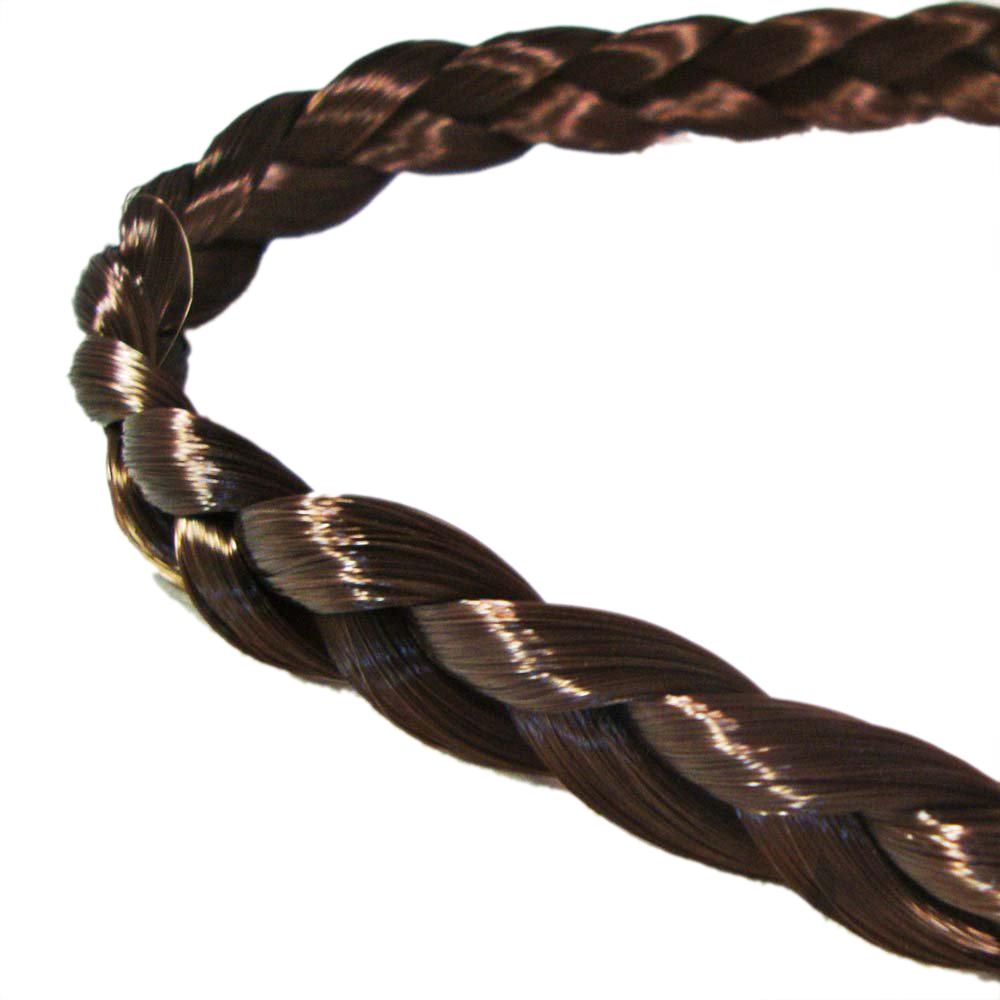 IMC Hair Braids Braided Headband Plaits Hairband - Light Brown(China (Mainland))