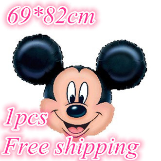 Гаджет  Party decoration wedding the lovely 69*82cm 2015 Mickey cartoon hydrogen balloons wholesale 1pcs free shipping hot sale None Игрушки и Хобби