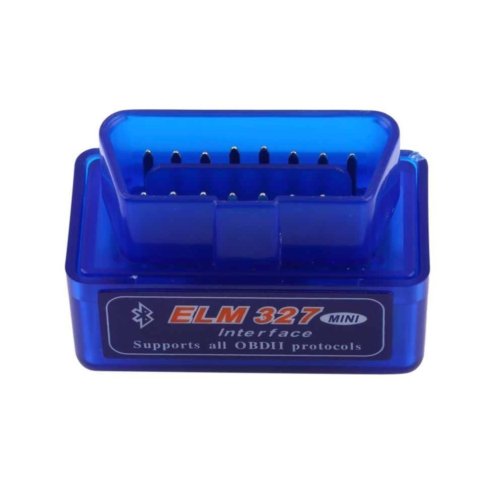 Factory price! Super OBD2 Bluetooth MINI ELM 327 OBD tester V2.1 interface elm327 obdii for Android Torque Car Code Scanner(China (Mainland))