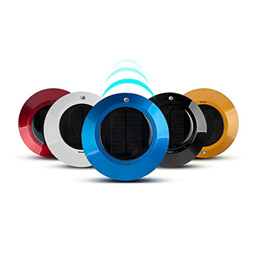 universal Car Air Purifier Solar Powered Upgraded Battery Charging System Colorful Small And Elegant Decoration For Automibles(China (Mainland))