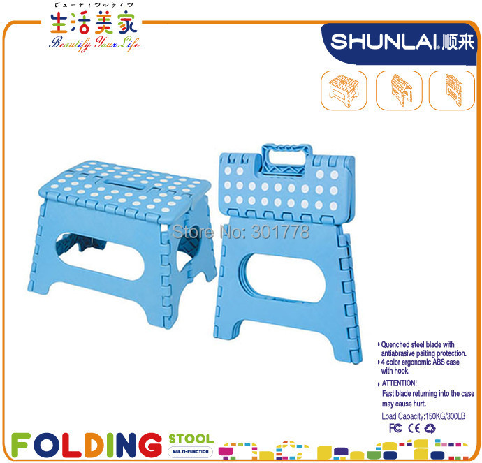 Outdoor Furniture Plastic Folding Step Stool