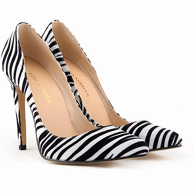 Классический сексуальный острым носом высокие каблуки женщины туфли на высоком каблуке ...