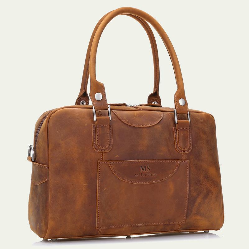2015 Men Genuine Leather Briefcase Messenger Bags Men Bag For Notebook Nen Shoulder Bag Brand Leather Office Bags