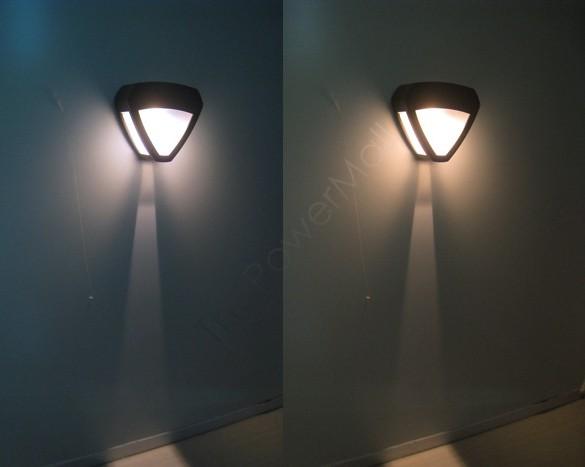 Solar led wall light Up to 100000 hour restroom bathroom bedroom reading wall lamp spotlight ...