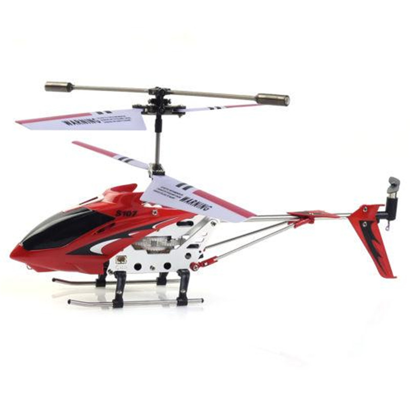 RC Plane Original Syma S107G 3-Channel 3.5CH Mini RC Flying Remote Control RC Helicopter Metal Alloy Fuselage Gyro LED Copter(China (Mainland))