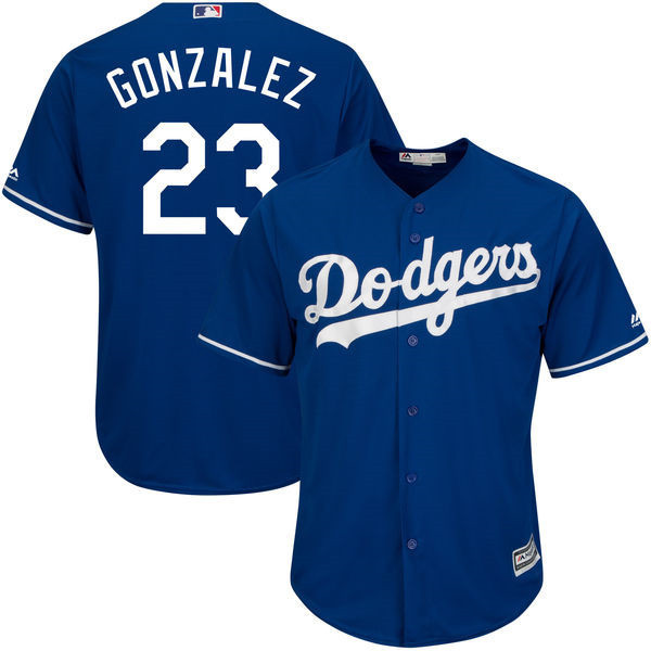 MLB L.A. Dodgers Adrian Gonzalez Men's Game Cool Flex Base Player Jersey Baseball Jerseys(China (Mainland))