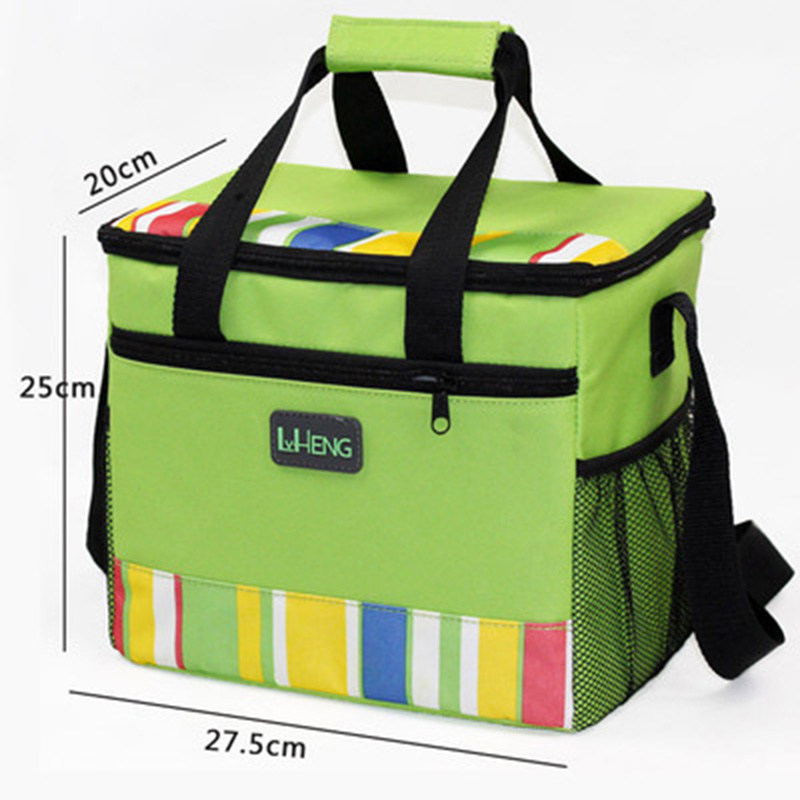 Folding Insulation Large Ice Pack Cold Breast Milk Storage Thermal Waterproof Lunch Take-Away Bag Ice Pack Coke Cooler Bag(China (Mainland))