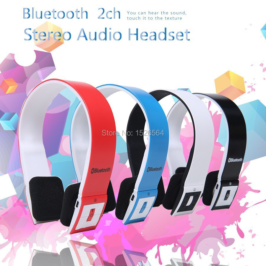 Wireless Bluetooth BH23 headset handsfree headphones earphone speaker with mic with retail package,free ship