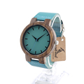 BOBO BIRD C28 Men s Ebony Wood Watches Timepiece Simple Blue Design Men Top Brand Wrist