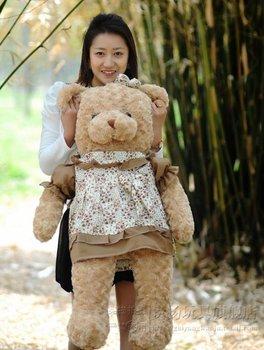 Couples baby birthday Valentine Teddy bear plush toys gifts 1PCS