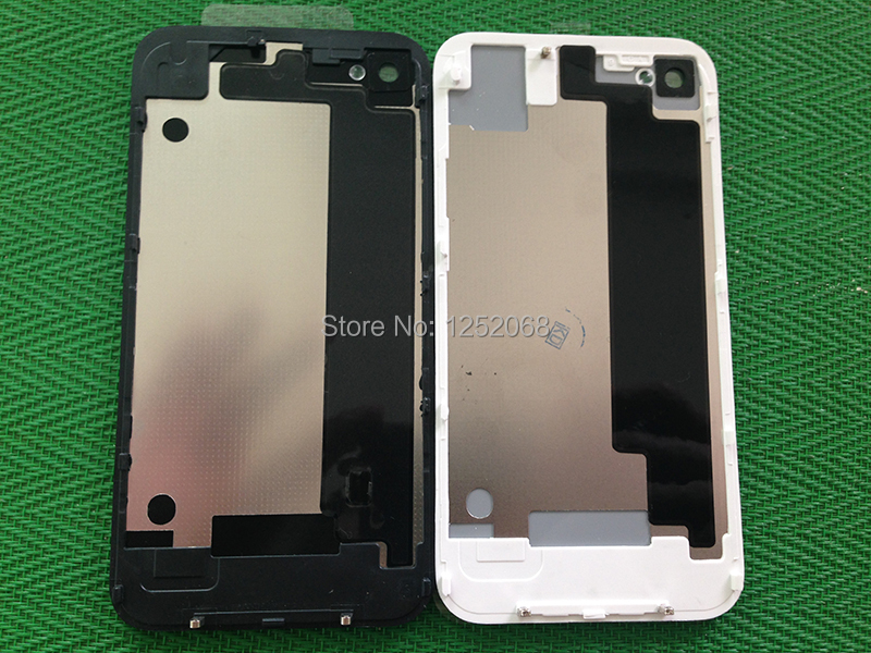 50pcs AAA Quality Back Glass Cover Rear Housing Assembly For iPhone 4G 4S(China (Mainland))