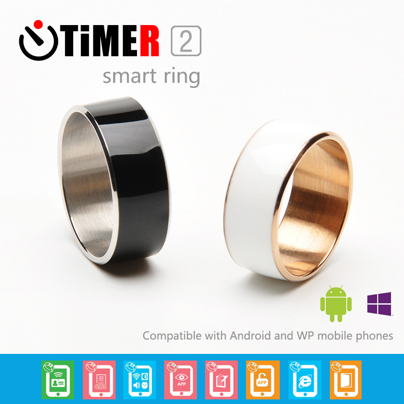 TimeR Smart Ring 2 for NFC Android WP Mobile phones smart wearable device Multifunction Magic Ring for Samsung Xiaomi HTC LG(China (Mainland))