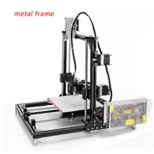 high quality used 3d printer factory supply filament 3d printer kit with one roll filament