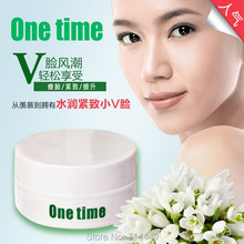80ml One Time Authentic Sliming Face Cream Secret of An oval face 2014 Facial Thin New Facial Fat Burning Health And Beauty Care
