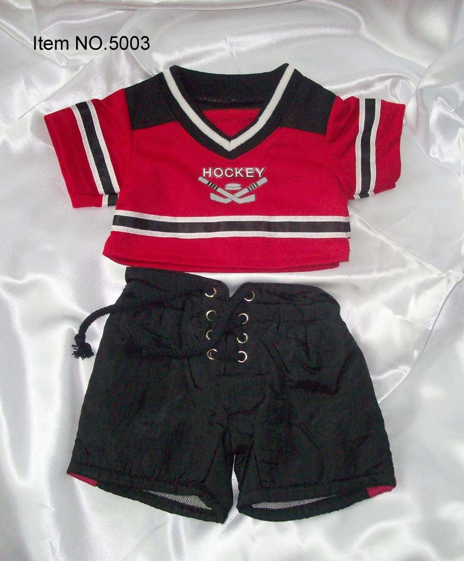 Fashion animals field hockey sport outfit the best gift for little