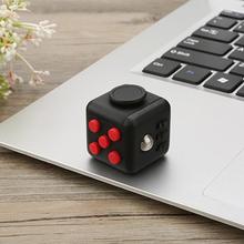 3*3*3cm Fidget Cube PVC Figure Toys(China (Mainland))
