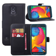 S5 Sport Cases Luxury Wallet Leather Case Cover For Samsung Galaxy S5 Sport G860P with Card Holder Stand Flip Mobile Phone Bag(China (Mainland))