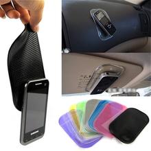 Car Anti Slip Mat Magic Sticky Pad Mobile Phone Holder Car Dashboard Silica Gel Sticky Pad Anti-Slip Mat For GPS MP3 MP4 Holder(China (Mainland))