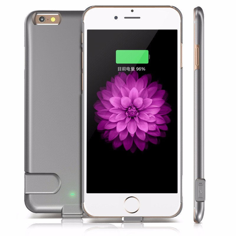 FACTORY PRICE Ultra Thin Quality External Backup Battery Pack Phone Cases For iPhone 7 7 Plus Portable Battery Power Cover Cases