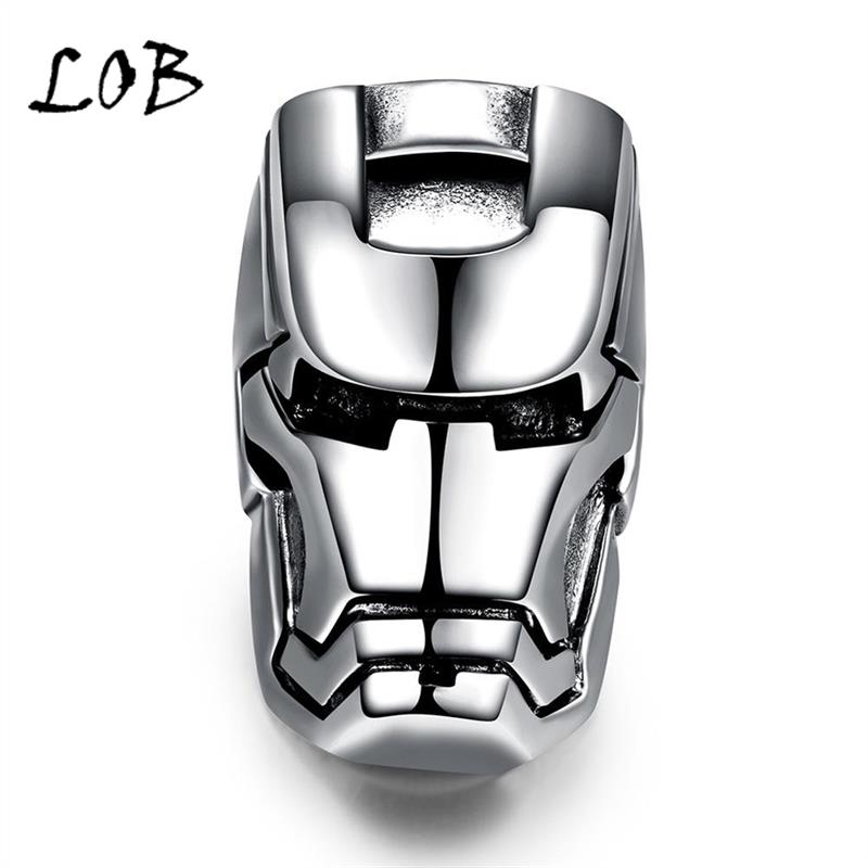 Men Jewelry 316L Stainless Steel Star Soldier Rings Men's Punk Vintage Party Ring Jewelry For Man Wholesale R197(China (Mainland))