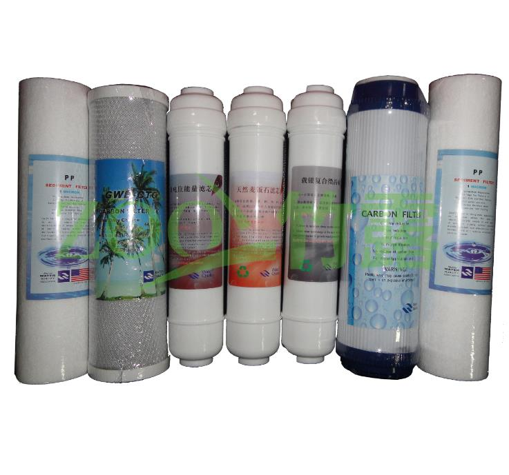 Water purifier filter bundle household direct drinking machine beauty the pool house water purifier prepositioned general after(China (Mainland))