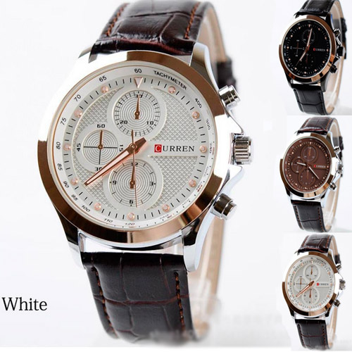 Fashion Quartz Wristwatch Casual Round Dial relogioes Best Selling Men Sports Military Watches Leather Boyfriend Gift <br><br>Aliexpress