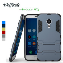 Anti-knock Case Meizu MX5 Cover Soft Silicone & Slim Plastic Armor Case For MEIZU MX5 Case Business Mobile Phone Holder Stand