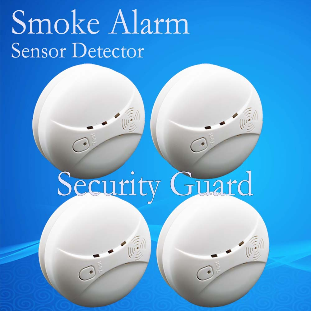 free shipping hot selling new 433 wireless smoke detector fire alarm sensor for indoor home. Black Bedroom Furniture Sets. Home Design Ideas