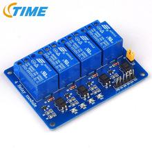 Blue 4 Channel Relay Module 5V 4Channel Relay Output 4-Channel 4 Way Relay Module Shield for Arduino