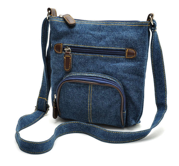 Women Bag 2015 New Arrived Big Discount School Style Vintage Top Quality Messenger Casual Bags Women Wallet Blue/Black 31x(China (Mainland))