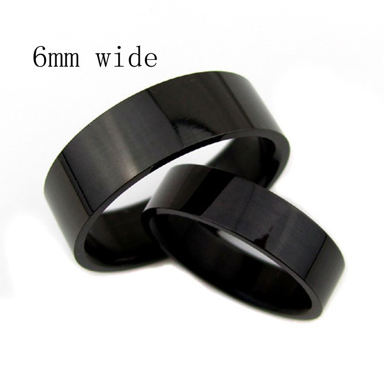 2015 new fashion wedding ring Men pinkie rings influx of people ring fine black glossy men's tail ring(China (Mainland))