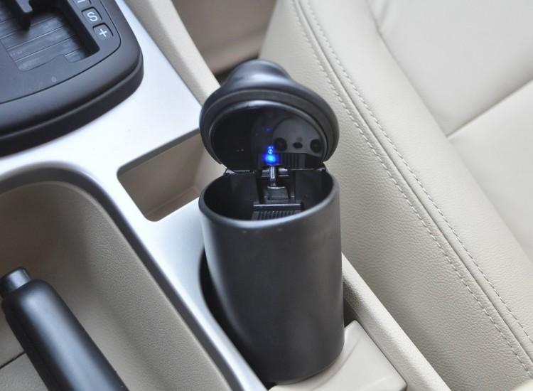 F10179 In Car Use Portable Cigarette Ashtray Smokeless Tobacco Tray Ebay