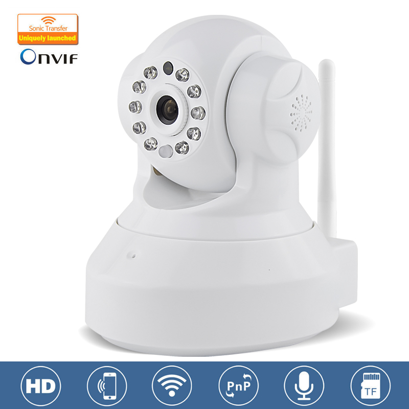 White Marlboze C7837WIP CCTV 720P Wireless IP Camera Wifi Night Vision Camera IP Network Camera CCTV WIFI P2P Onvif IP Camera(China (Mainland))