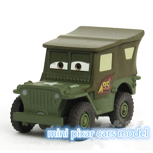 The Pixar Sarge 1:55 Metal Alloy/Plastic Diecast Toy Car Quality goods brand kids toys(wanju012)(China (Mainland))