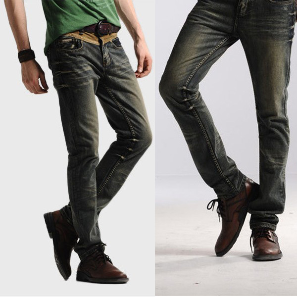Leisure&Casual Pants 2015 New Newly Style TOP Brand Cotton Men's Jeans Trousers Straight Leg - Hard-working people store