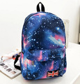 2016 Fashion Women Canvas Backpacks galaxy Printing Schoolbags For Teenagers Girls Outdoor Travel Bags Bolsas Mochila
