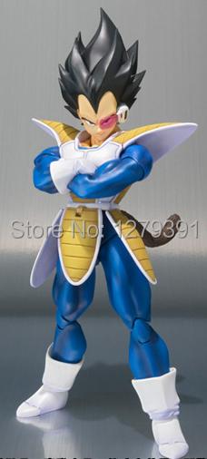 Free shipping Datong Dragon Ball S H Figuart Character: Black Hair Scouter Vegeta SHF Action Figure,Dragon Ball Model Figure(China (Mainland))